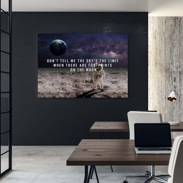 success quote wall art