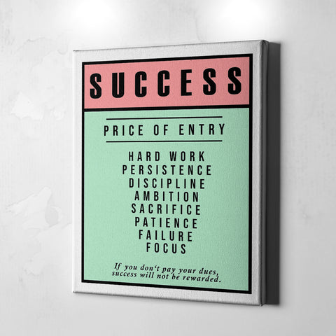 Success Ticket