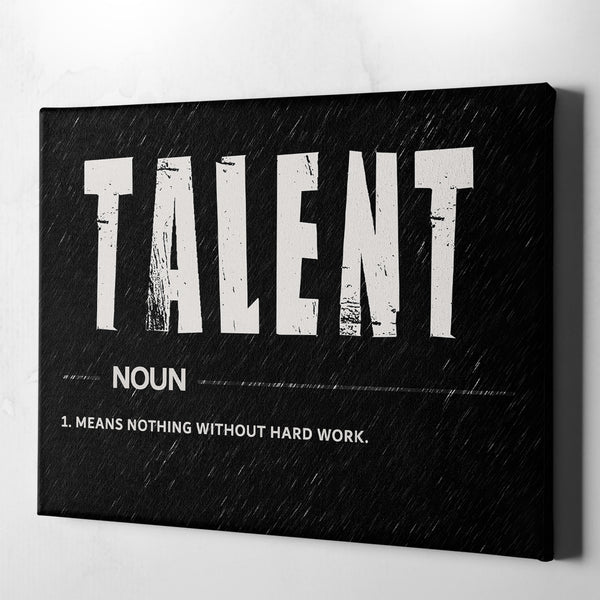 motivational office wall decor canvas