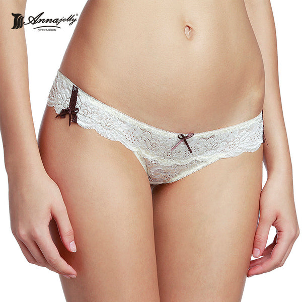 Sexy Top Lace Floral G-String Thong Panties