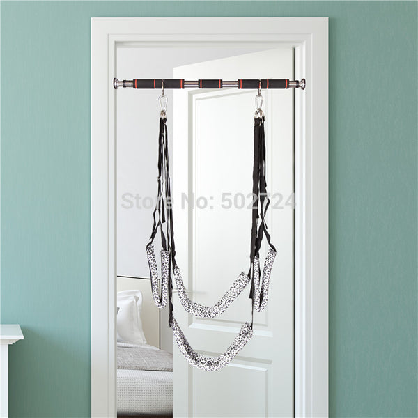 Sex Swing With Adjustable Metal Hanging Door Bar