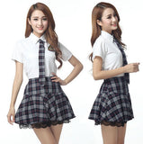 Sweet Catholic School Girl Erotica Cosplay Sexy Costume Lingerie - Multiple sizes including Plus Size