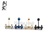 Anodized Erotic Tongue Barbell Piercing Piercing - Sex Toys Wunderland