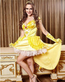 Princess Belle Sexy Lingerie Costume Dress - Beauty and Beast Inspired Lingerie - Sex Toys Wunderland