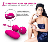 Silicone Kegel Balls Vaginal Tight Exercise Vibrating Eggs with Remote Control Vibrator - Sex Toys Wunderland