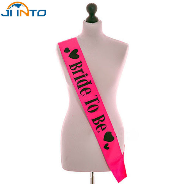 """Bride to Be"" Bachelorette Party Satin Sash decorations - Sex Toys Wunderland"