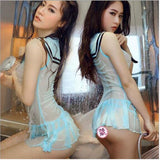 Roleplaying Japanese Student Uniforms Sexy Lingerie Cosplay Lingerie - Sex Toys Wunderland