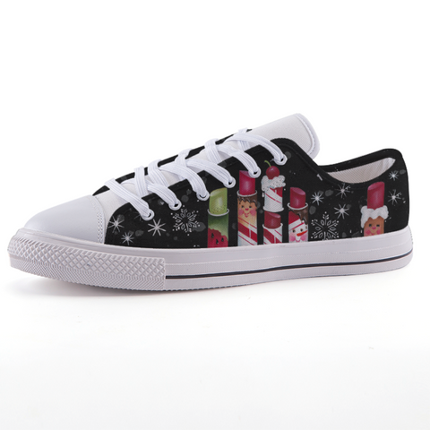 Peppermint Play Time Low-top fashion canvas shoes