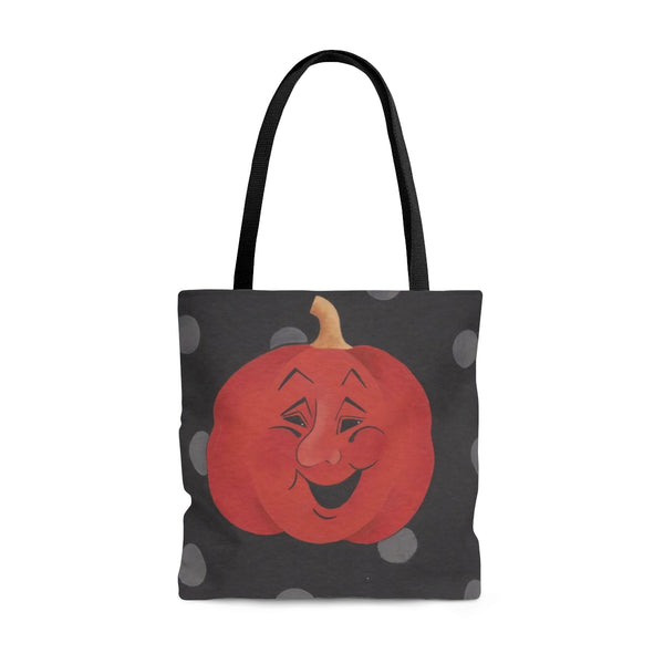 Happy/Sad Pumpkin Halloween Tote Bag