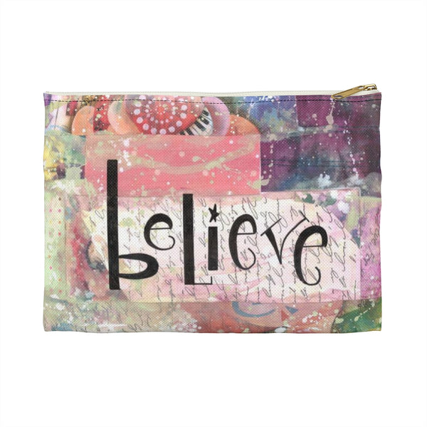 Cherish & Believe Accessory Pouch