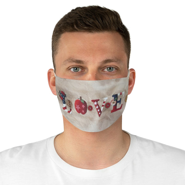 Love Fabric Face Mask