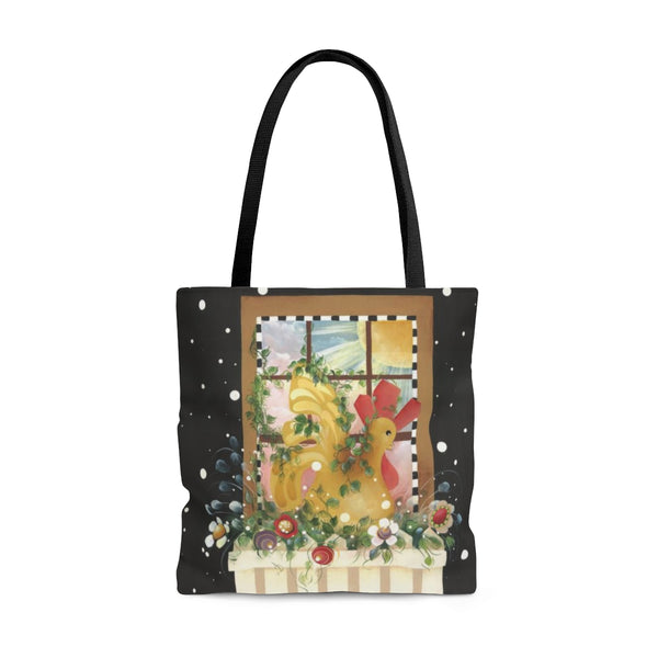 Rooster Window Tote Bag