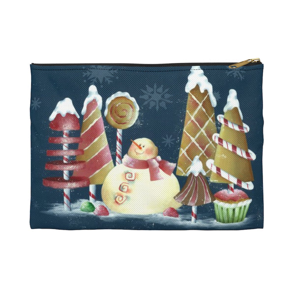 Merry Christmas Accessory Pouch