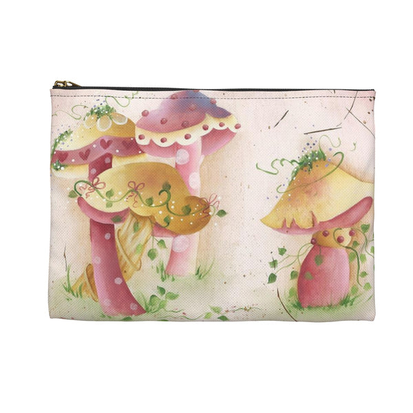 Plant Smiles Accessory Pouch