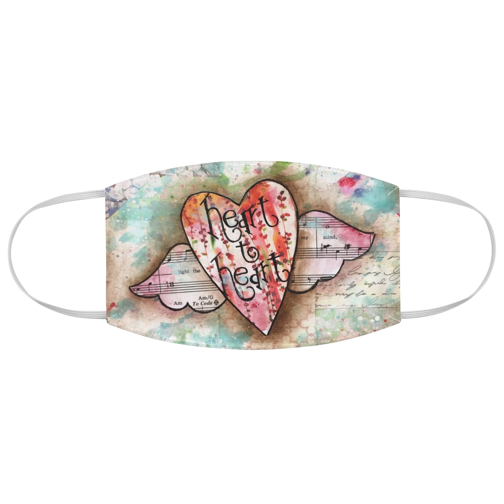 Heart to Heart Fabric Face Mask