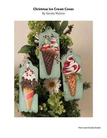 Christmas Ice Cream Cones