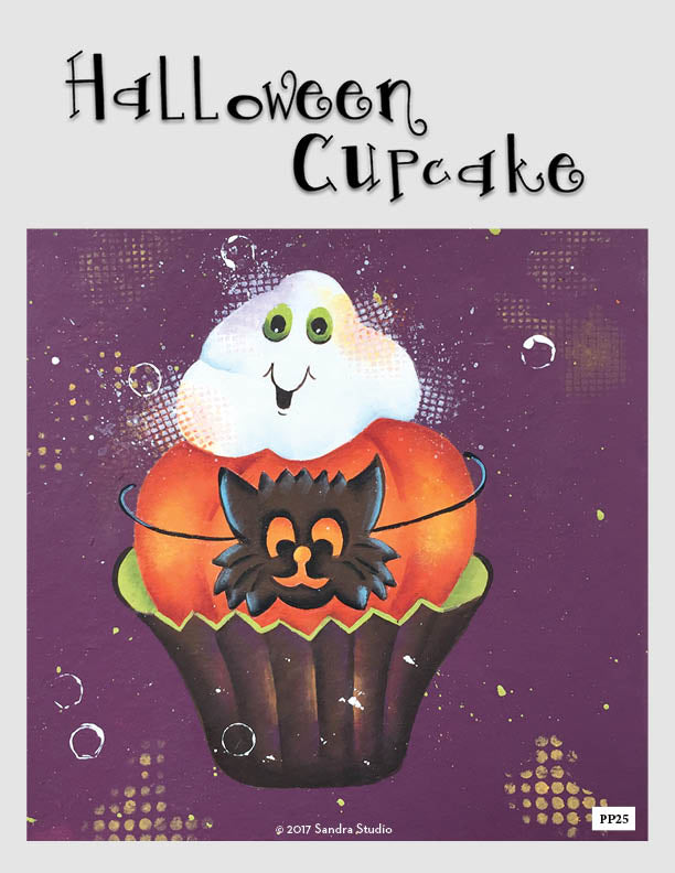 Halloween Cupcake - Digital Pattern Packet