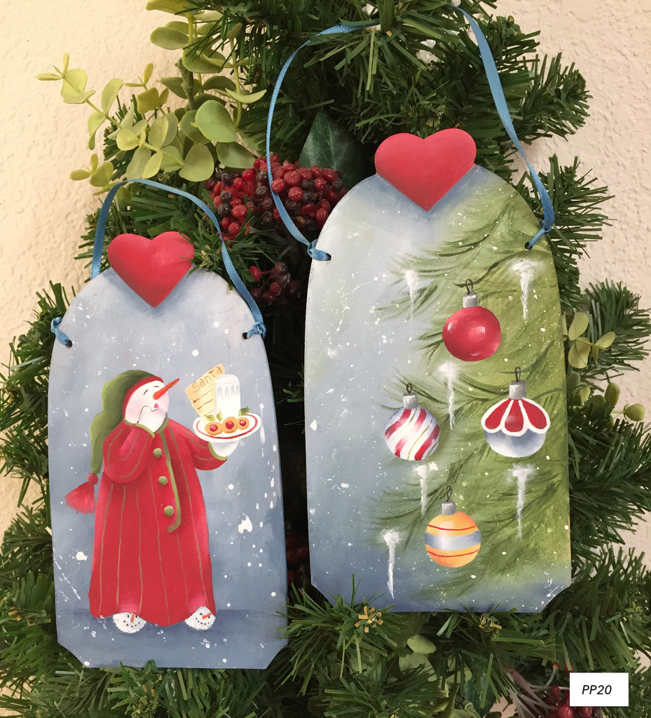 Santa Treats Ornaments