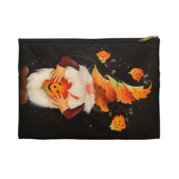Autumn Gnome Accessory Pouch