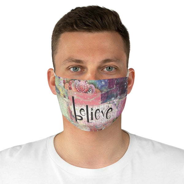 Believe Fabric Face Mask