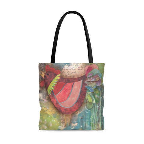 Roosters Tote Bag