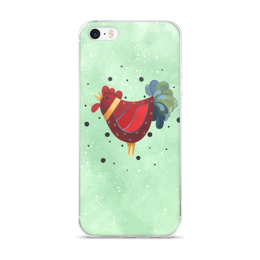 Red Rooster - iPhone 5/5s/Se, 6/6s, 6/6s Plus Case