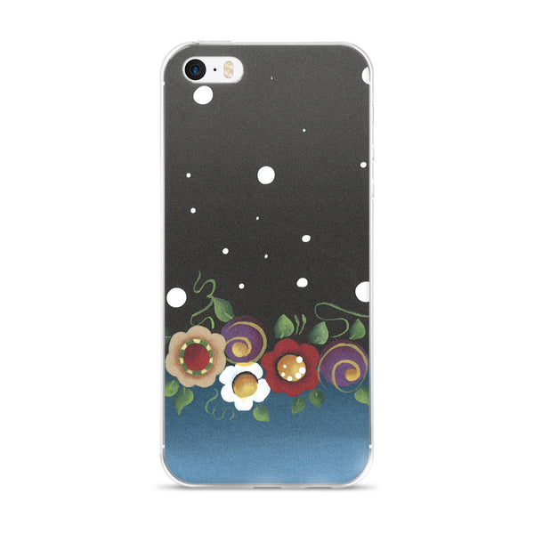Star Flowers - iPhone 5/5s/Se, 6/6s, 6/6s Plus Case