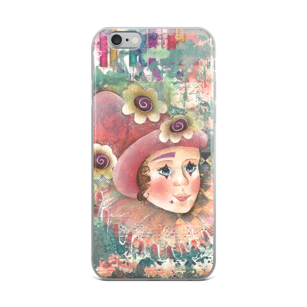 Clown Girl iPhone 5/5s/Se, 6/6s, 6/6s Plus Case