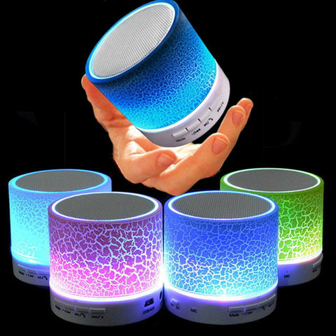 Portable LED Bluetooth Speakers
