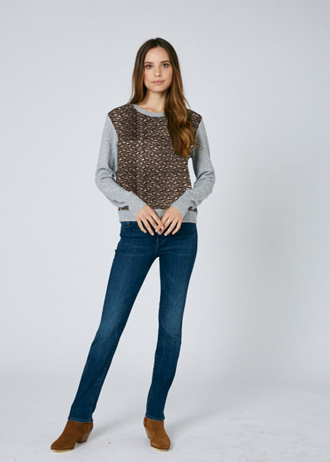 Jenny Diamond Quilt Sweater *Only 1 Available*