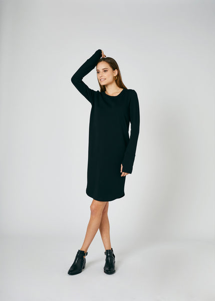 Payton French Terry Dress