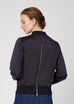 Sarah Satin Bomber Jacket