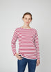 Emma Long Sleeve Breton Stripe Tee
