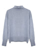 Isla Organic Cotton Cashmere Sweater - Grey