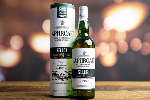 Laphroaig 10 Year Single Malt Islay Whisky