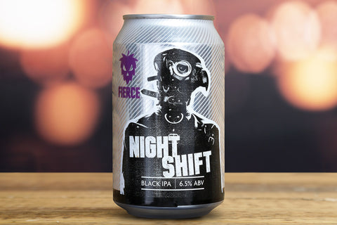 Fierce - Night Shift - Black IPA - 6.5%