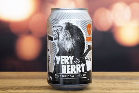 Fierce - Very Berry - Sour Berry Ale - 4.5%