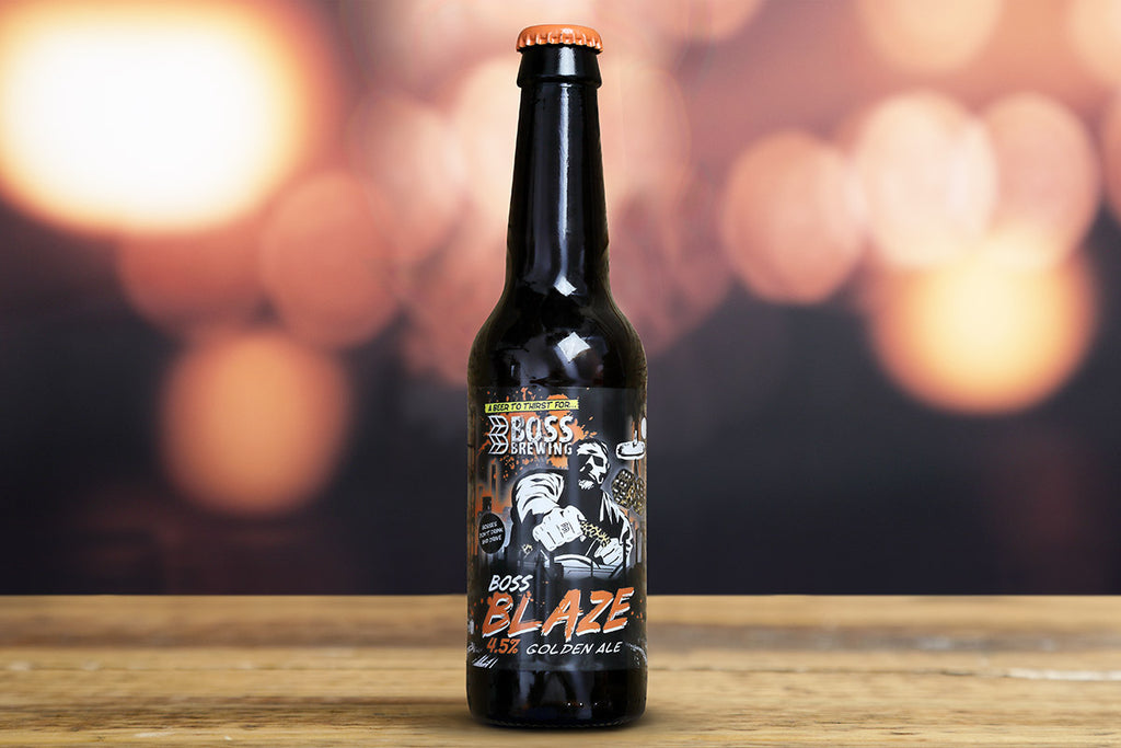Boss Brewing - Blaze - Golden Ale - 4.5 %