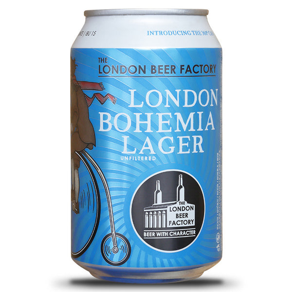 London Beer Factory - Bohemia Lager - 5%