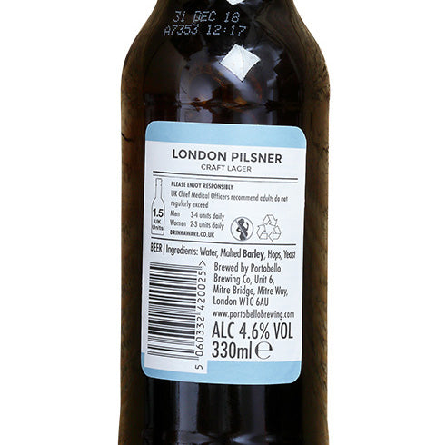 Portobello Brewing - London Pilsner - 4.6%