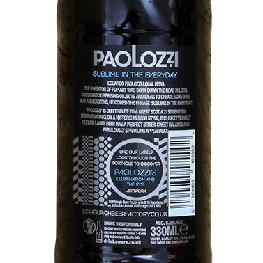 Edinburgh Beer Factory - Paolozzi - Lager - 5.2%