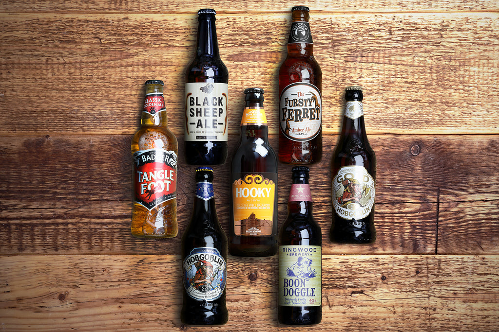 British Beer Favourites Selection
