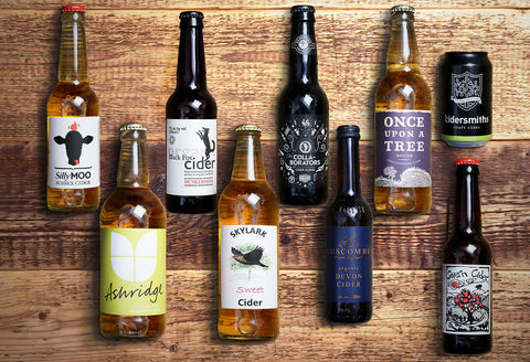 Craft Cider Selection