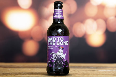 Gun Dog Ales - Bad To The Bone -4.5%