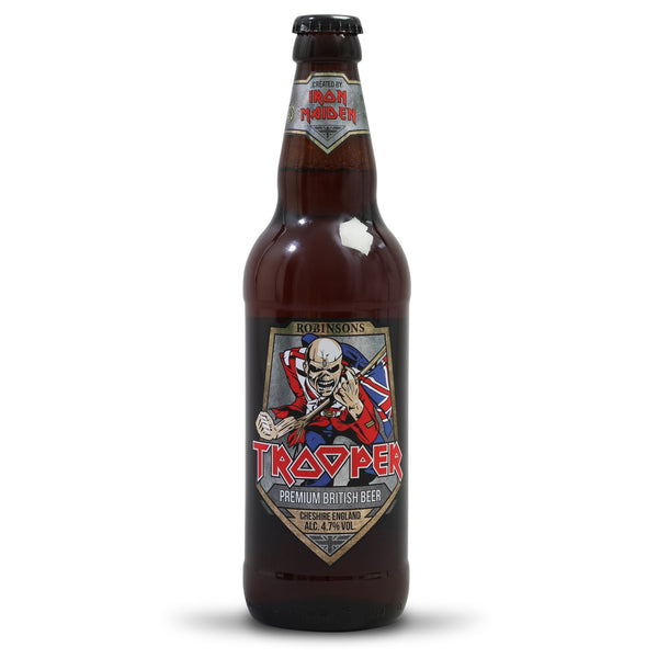Iron Maiden Trooper - Premium British Beer - Robinsons