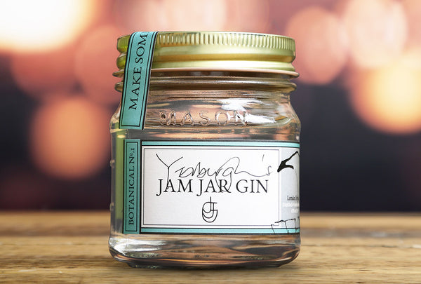 Yerburghs Jam Jar Gin - London Dry  20CL