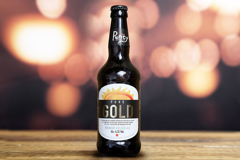 Purity Brewing - Pure Gold - Premium Golden Ale - 4.3%