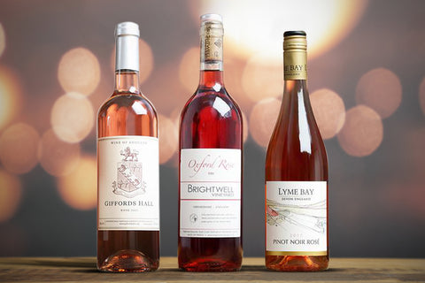 English Rose Wine Trio