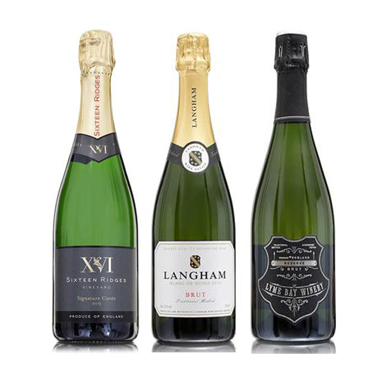 English Sparkling Wines Trio Selection