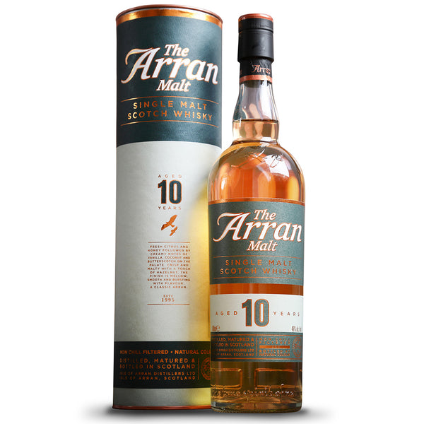 The Arran Single Malt Scotch Whisky 10 year